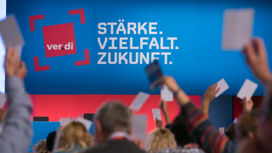 ver.di-Bundeskongress 2015 in Leipzig