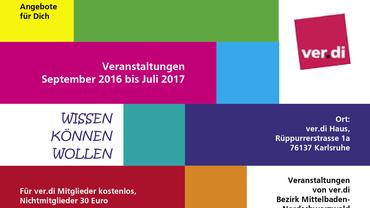 Bezirklicher Veranstaltungskalender 2016/2017