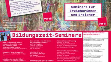 Bildungszeit-Seminare 2016/2017