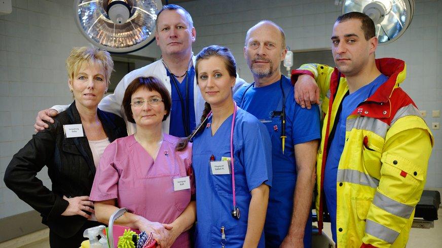 Abbildung Personengruppe Beschäftigte Krankenhaus