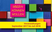 Bezirklicher Seminarkalender 2017/2018