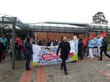 Aktive Pause für einen Tarifvertrag Entlastung für das SRH Klinikum Karlsbad-Langensteinbach