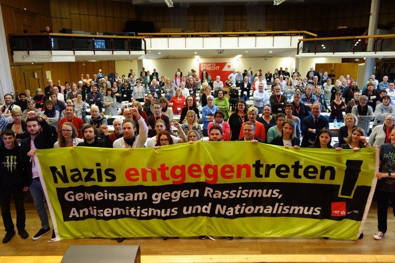 Nazis entgegentreten!