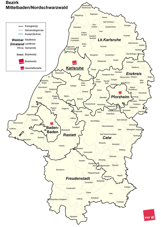 Bezirk Mittelbaden-Nordschwarzwald