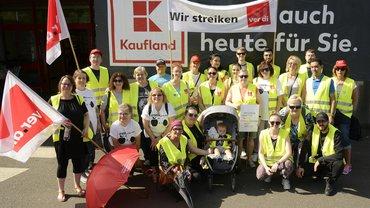 Kaufland Mannheim streikt auch heute für Sie