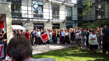 SWR-Warnstreik am 02.09.2019 in Baden-Baden