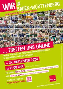 Online-Treffen der Interessenvertretungen und Beschäftigten am 24. September 2020.