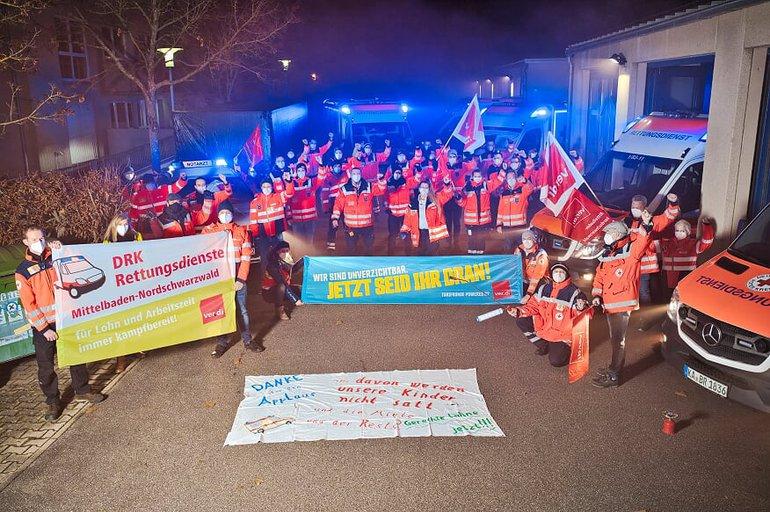 Leuchtfeuer für den Rettungsdienst Karlsruhe