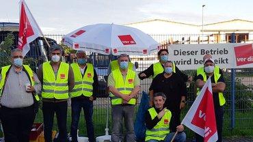 Heute Streik und Urabstimmung bei Hagro Transbusreisen