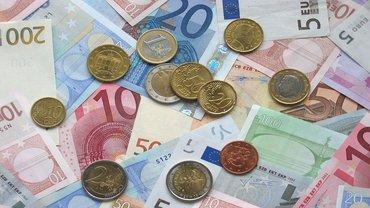 Geld Euro Schein Geldschein